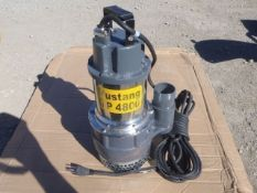 "Unused Mustang MP4800 2"" Submersible Pump, Electric"