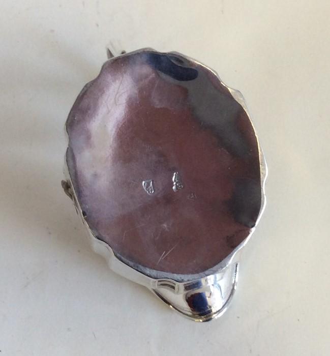 Lot 18 - DUBLIN: A good Georgian bright cut Irish silver cr