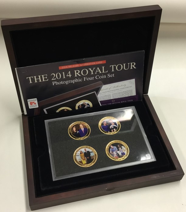 Lot 47 - A cased Westminster '2014 Royal Tour Photographic