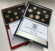 A Royal Mint 1990 proof coin collection together w