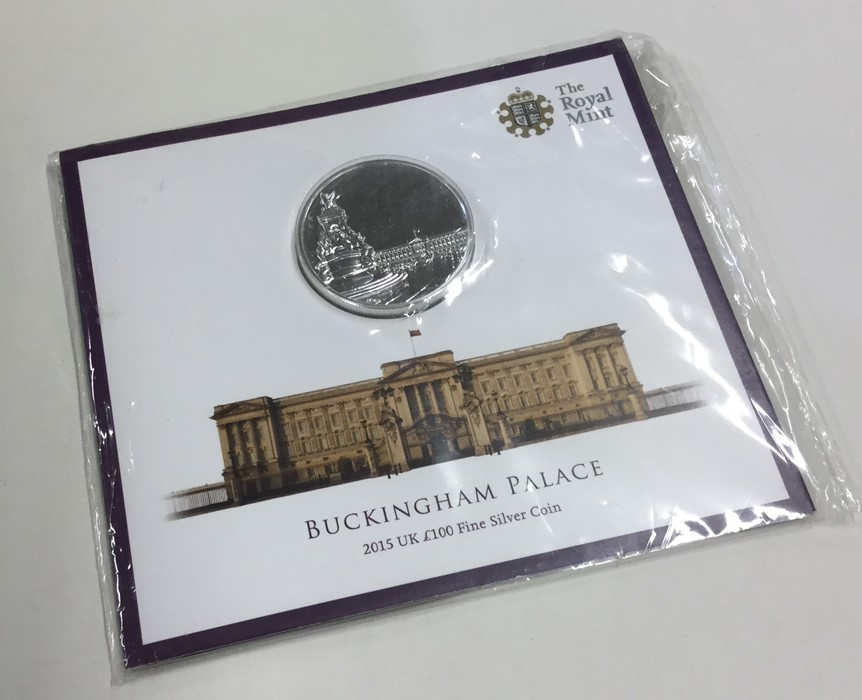 Lot 46 - A proof Royal Mint Buckingham Palace £100 coin in
