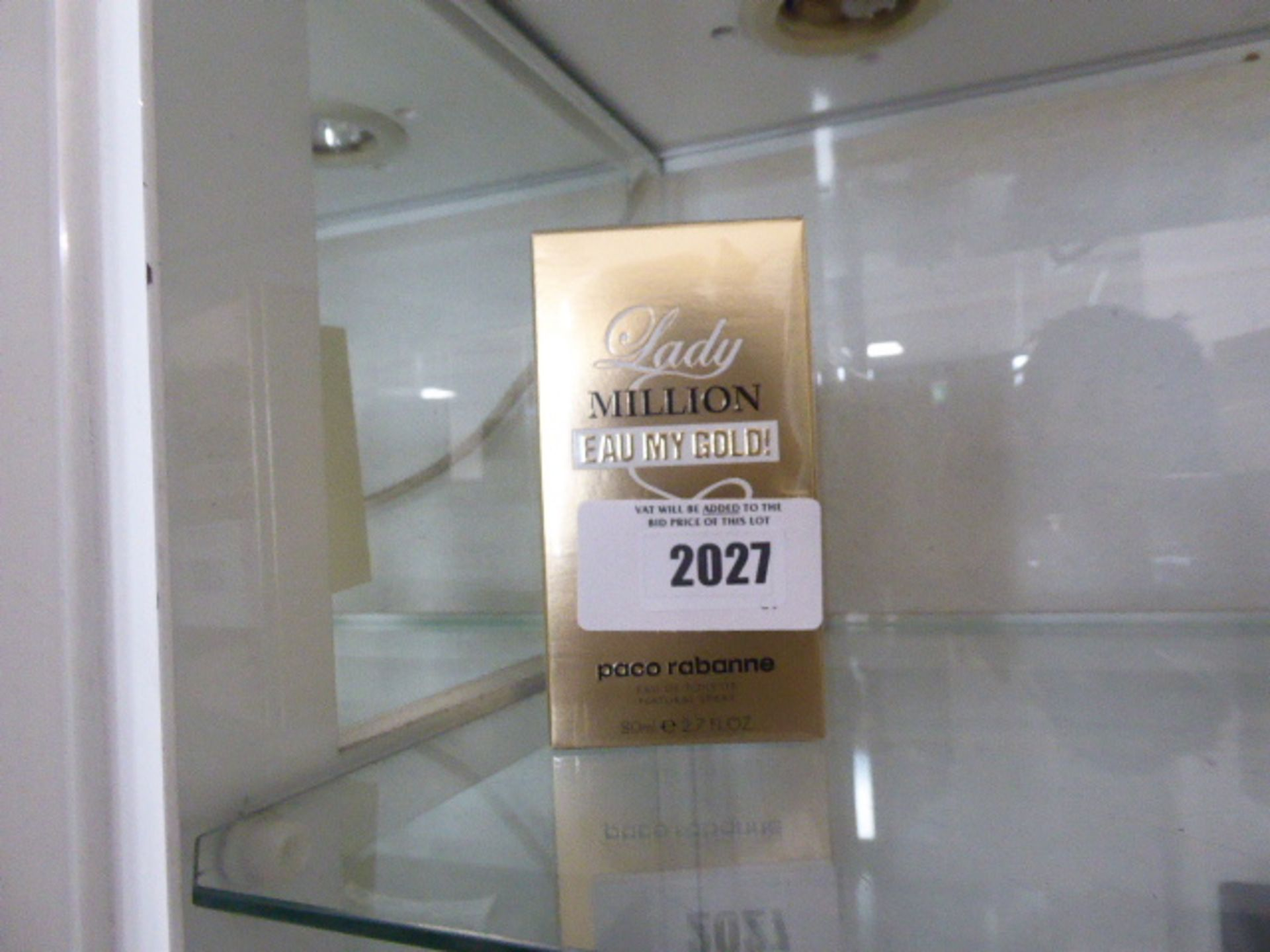 Lot 2027 - Lady Million by Paco Rabanne, 80ml perfume in sealed box