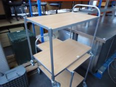 85cm 2 Tier catering trolley