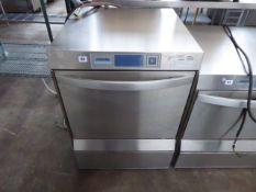 60cm Winterhalter model UC-L under counter drop front dishwasher with digital display