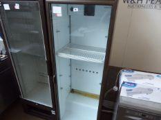(70) 60cm Cornelius single door display fridge (failed electrical test)