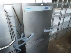 Winterhalter PT-M lift top pass through dishwasher with digital display year 2014