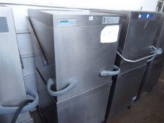 61cm Winterhalter GS502 lift top pass through dishwasher