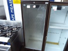 (71) 60cm Osborne single door display fridge (failed electrical test)