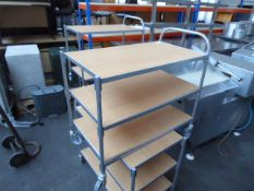 85cm 3 Tier catering trolley