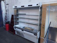 Arneg open front multi deck chiller cabinet