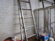 (73) Abru aluminium combination ladder