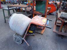 Belle Minimix 150 electric cement mixer (E321649)