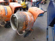 Belle Minimix 150 electric single bag cement mixer (E319501)