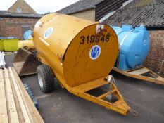 2140L fuel bowser on single axle plant trailer (319846)
