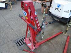 1 ton engine crane in red (E32590)