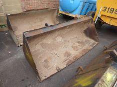 Strickland large excavator bucket (E320159)