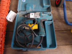 (13) Makita TW0200 electric wrench with case (E318204)