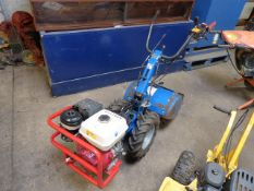 Tracmaster C8 petrol engine rotovator (E321859)
