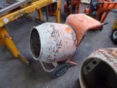Belle Minimix 150 electric single bag cement mixer (E319502)