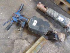 Heavy duty blue hand operated breaker unit