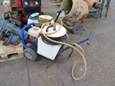 Brendon Powerwashers petrol engine pressure washer on small trolley (E321712)