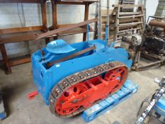 Ransomes MG tracked crawler with 2 stroke diesel engine