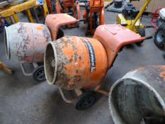 Belle Minimix 150 petrol single bag cement mixer (E321318)