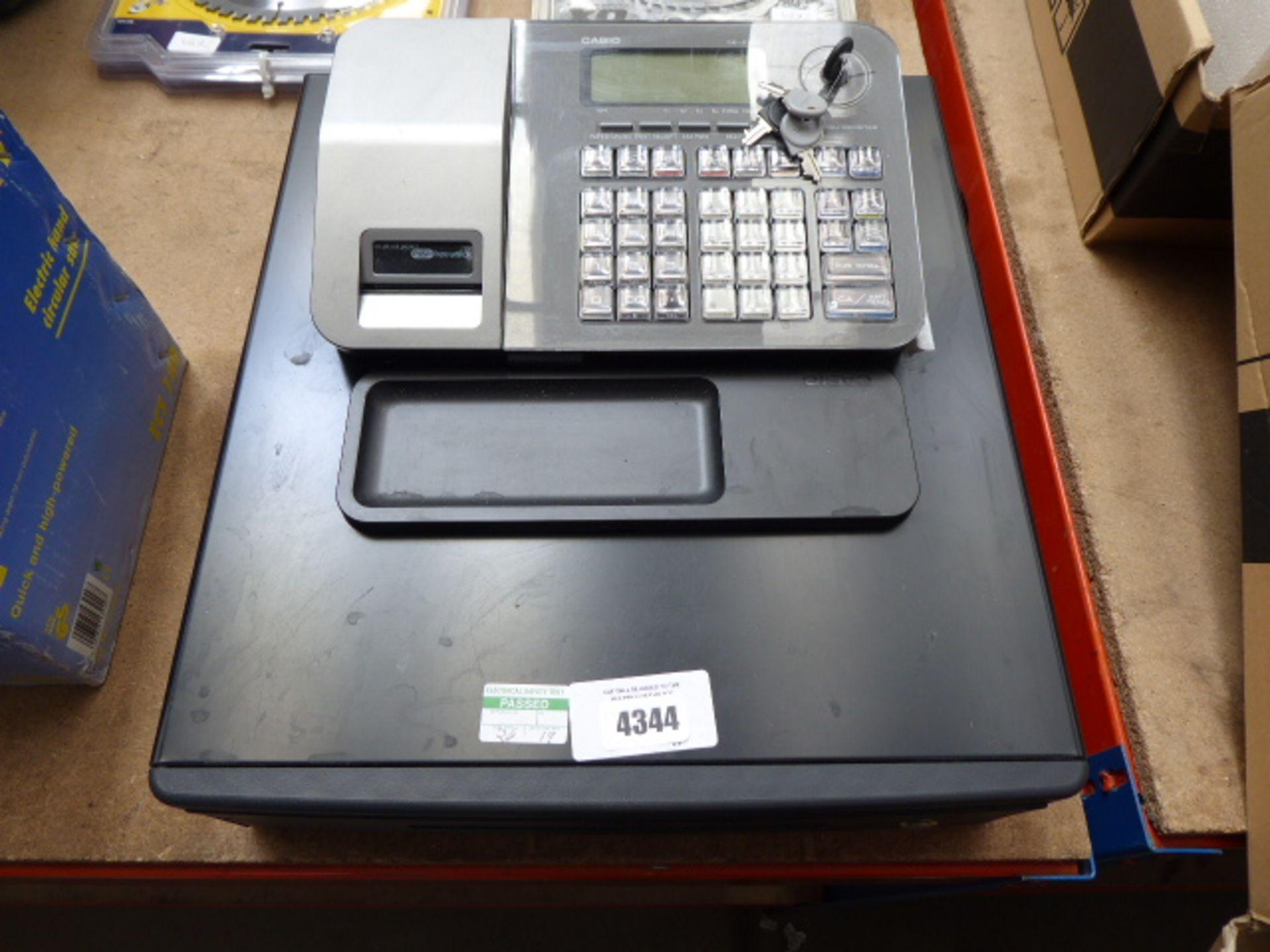 Lot 4344 - Casio cash register