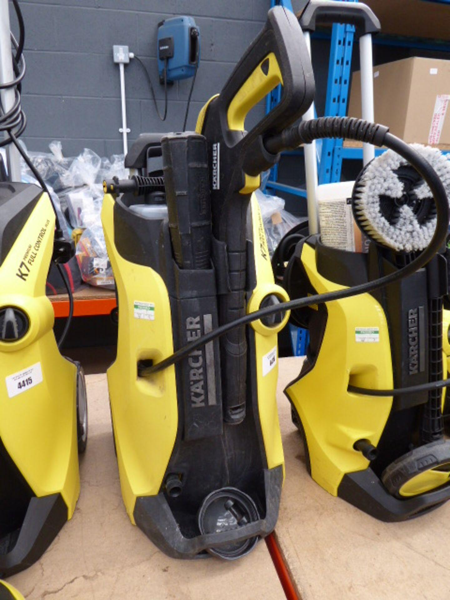 Lot 4414 - Karcher K7 premium full control electric pressure washer