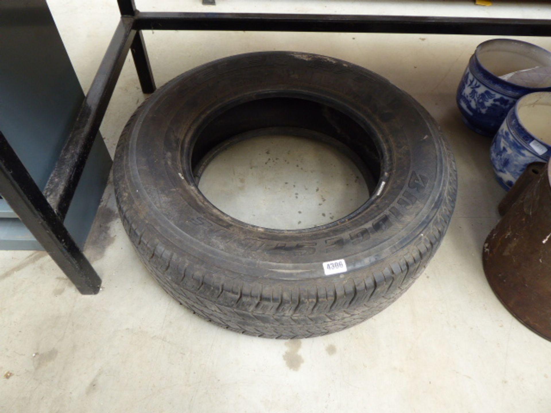 Lot 4306 - Bridgestone dueler tyre size 265/65/17