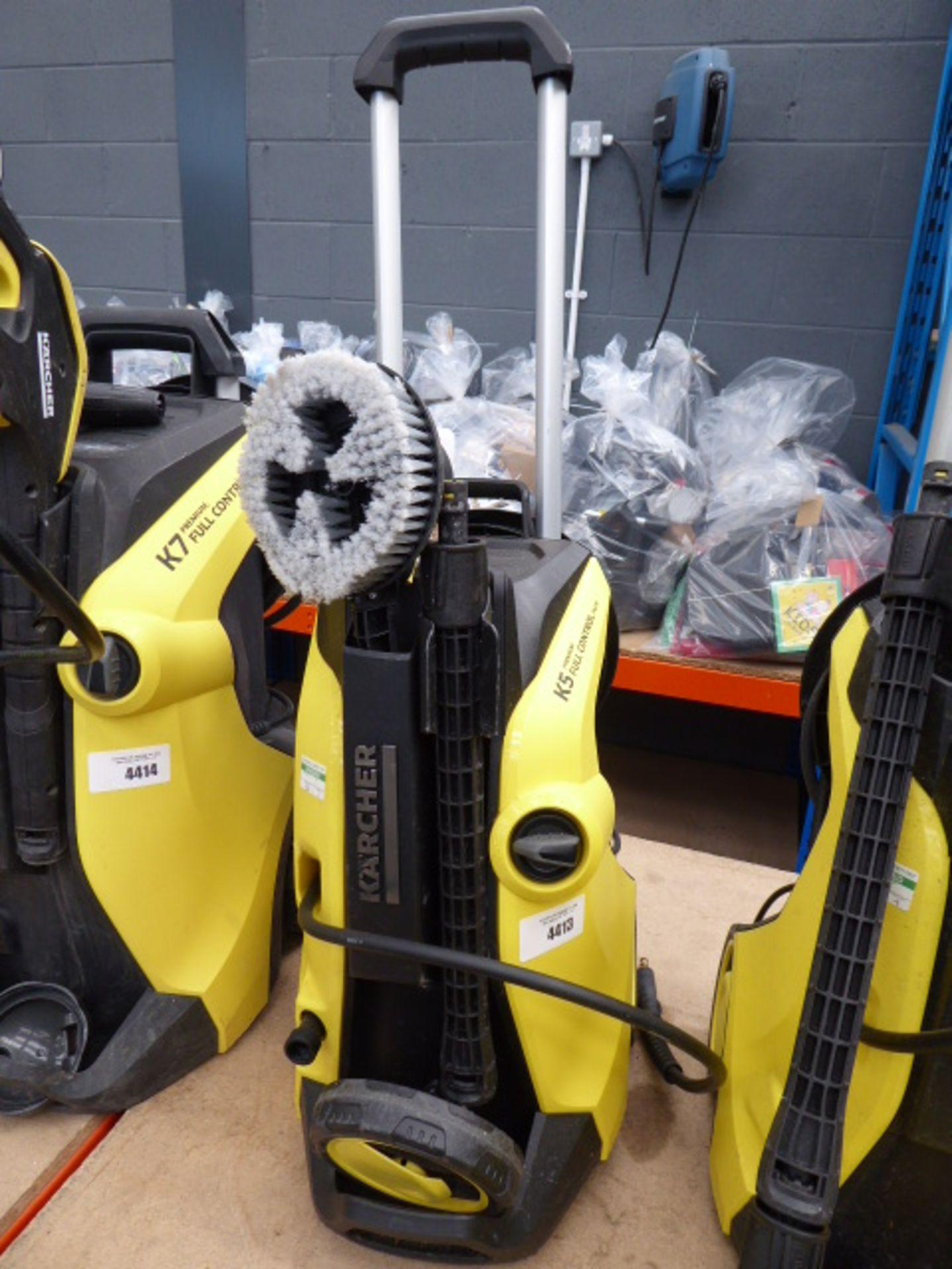 Lot 4413 - Karcher K5 premium full control electric pressure washer