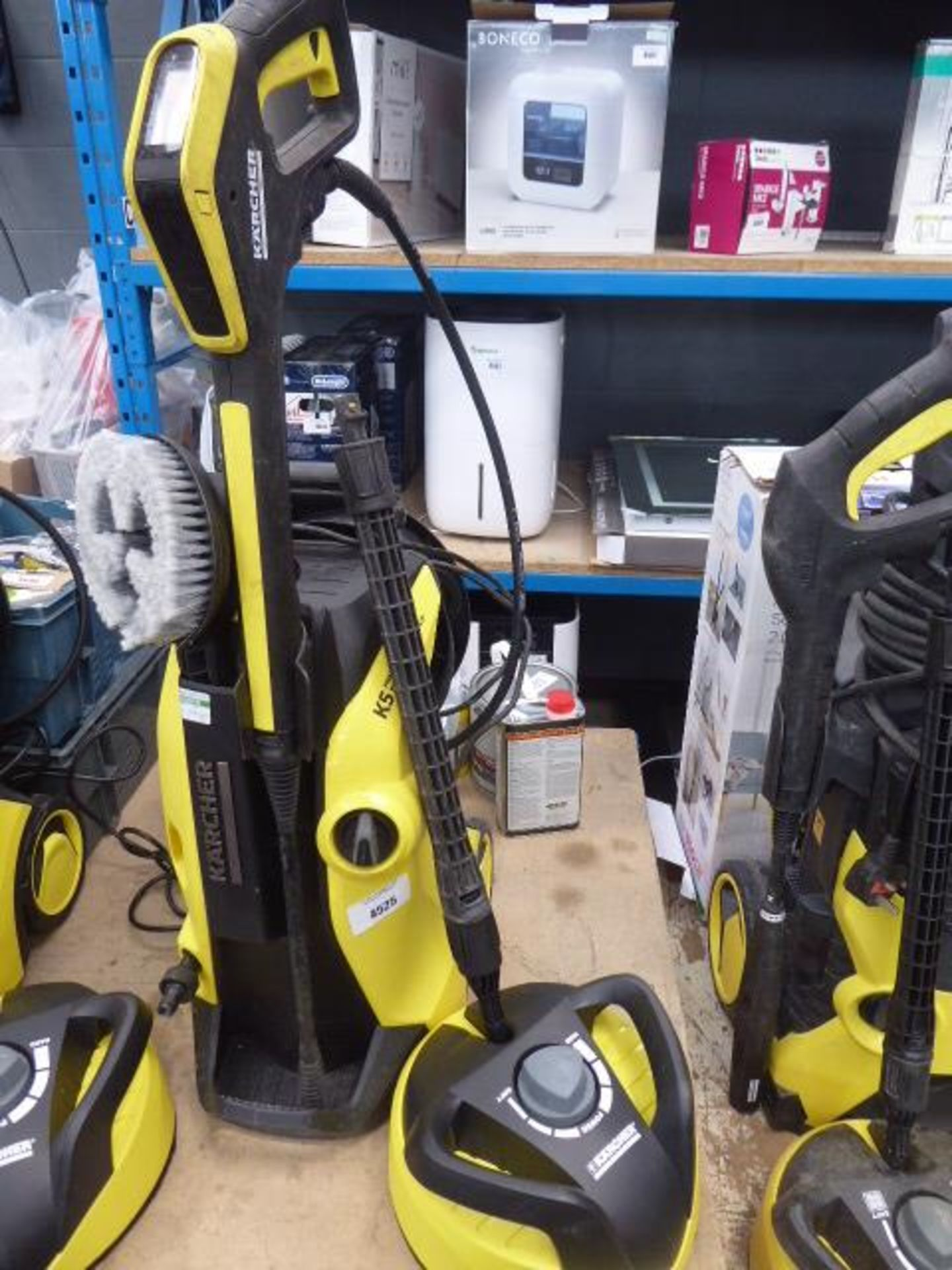 Lot 4391 - 4526 Karcher K5 premium full control electric pressure washer with patio cleaning head and turbo