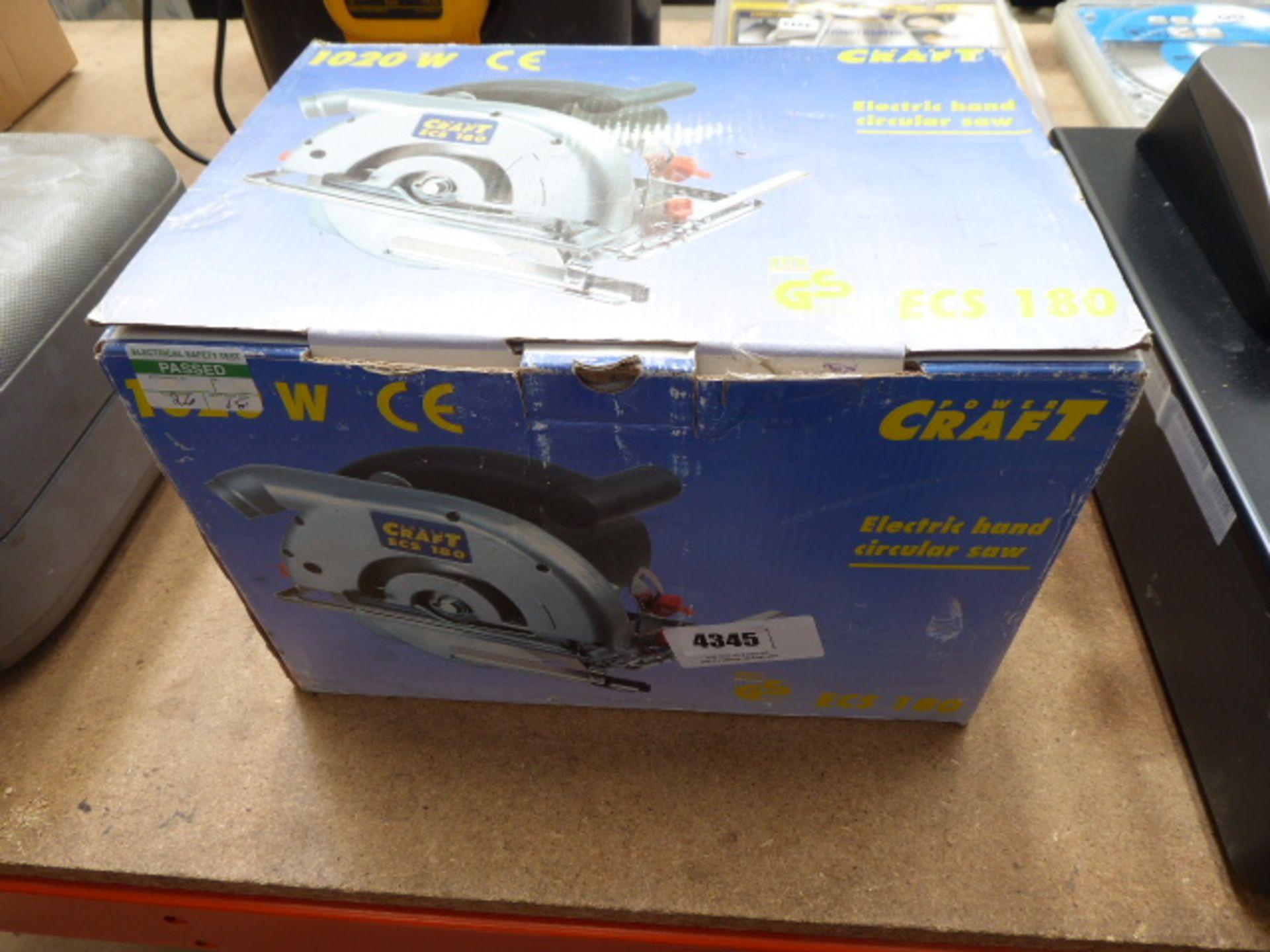 Lot 4345 - Boxed circular saw