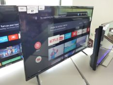 (R24) TCL 32'' TV model number 32ES568 with remote and box B69