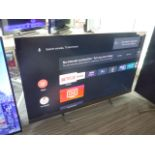 (R6) TCL 55'' TV model number 55EC788 with remote and box B115