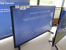 (R48) Sharp 32'' TV model number 32AC2K with remote and box B95