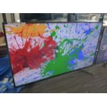22 (2030OT) - (R15) Sony 55'' TV model number KD-55XG8196 with remote and box B124 (TV has line on