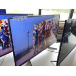 (R47) Sony 43'' TV model number KD-43XG8196 with remote and box B94 (TV has scratch in screen)