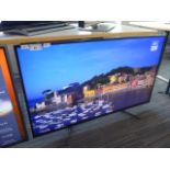 (R4) Sony 49'' TV model number KD-49XG8196 with remote (TV has scratch on screen)
