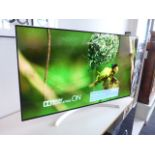 (R13) LG 55'' OLED TV model number OLED55B7V with remote and box B122