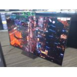 (R61) Sony 55'' OLED TV model number KD-55AF8 with remote and box B107