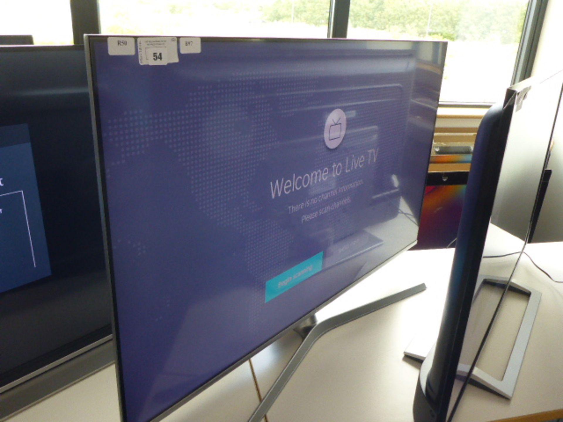 (R50) Hisense 50'' TV model number H50U7BUK with remote and box B97