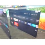 (R58) TCL 55'' TV model number 55C715K with remote