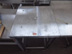 60cm stainless steel preparation table