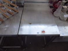55cm stainless steel preparation table