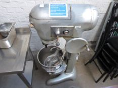 Hobart 30 Qt commercial mixer with bowl and 2 attachments