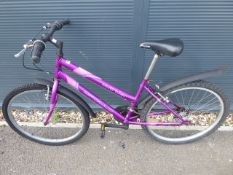 4024 Pink Apollo girls cycle