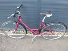 4025 Red Raleigh girl's cycle