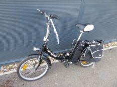 Dillinger folding electric cycle