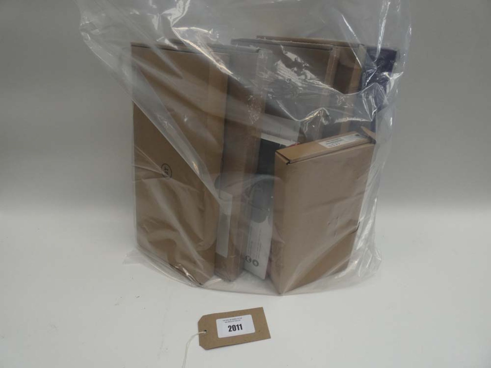 Lot 2011 - Bag containing quantity of hubs/routers from BT and Sagecom